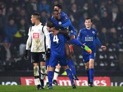 Leicester City muss gegen Derby County in ein Wiederholungsspiel