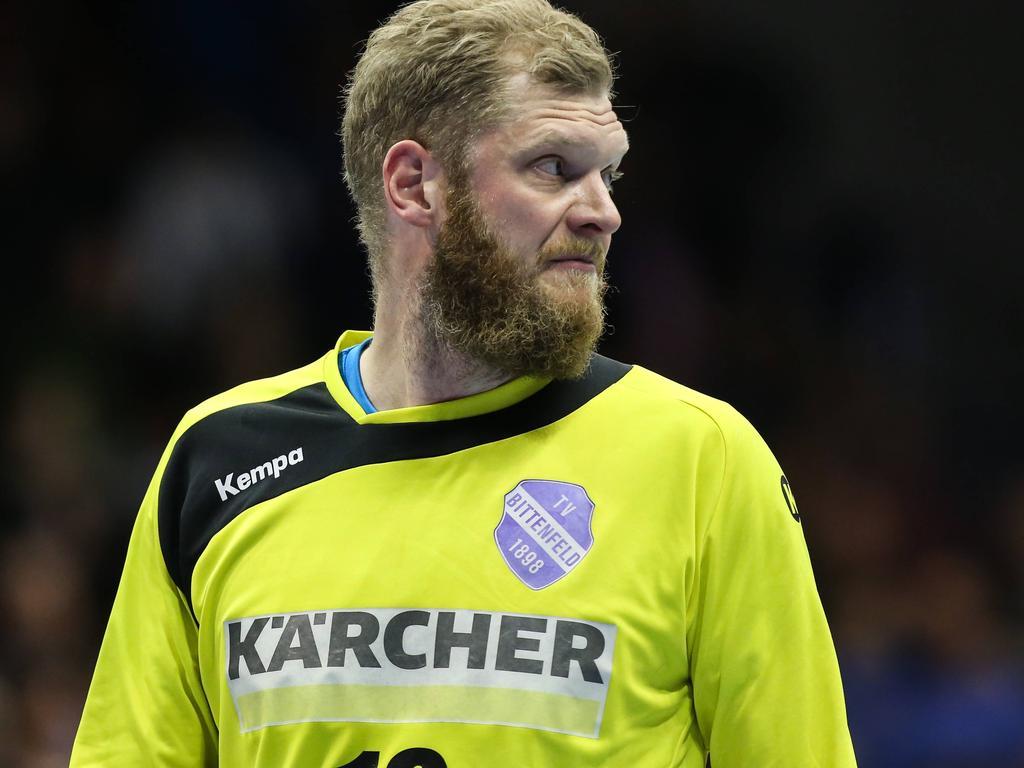 Johannes Bitter spielt in der Bundesliga für den TVB Stuttgart