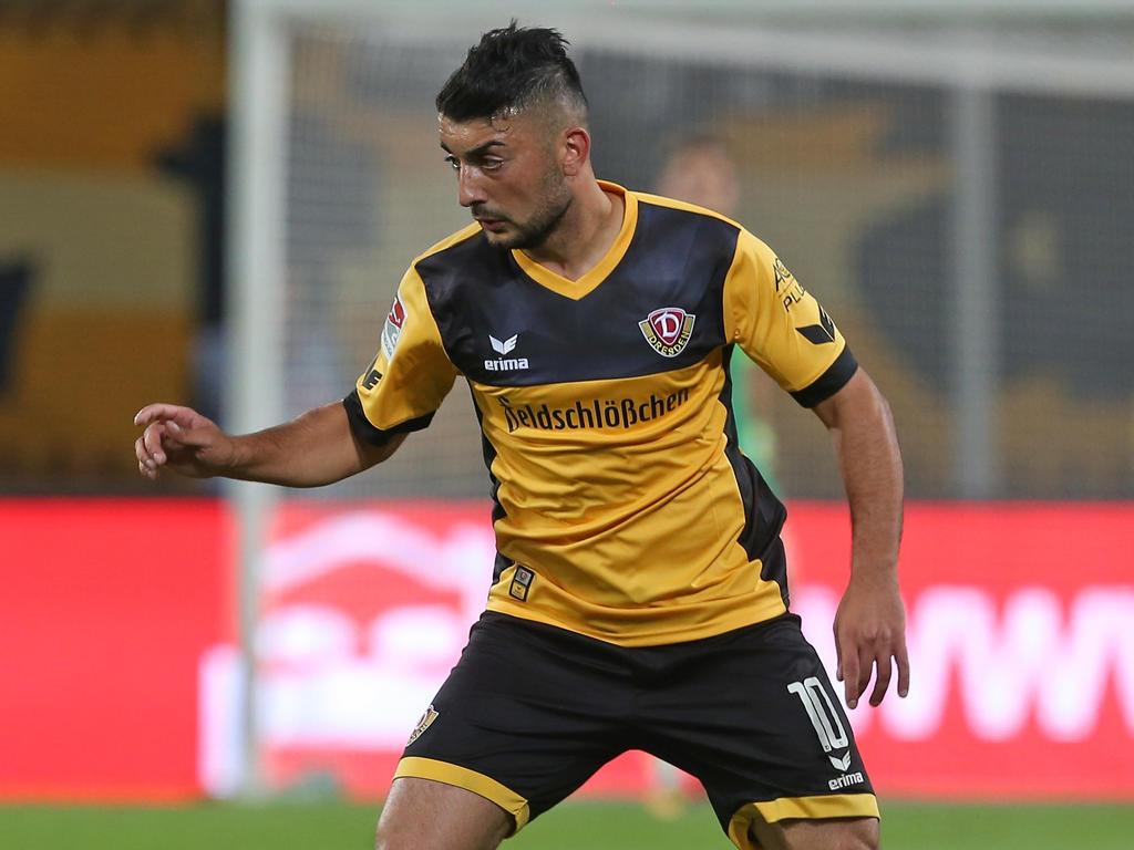 Mittelfeldspieler Aias Aosman bleibt in Dresden