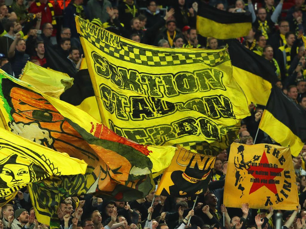 Die Anhänger von Borussia Dortmund müssen sich schweren Vorwürfen stellen
