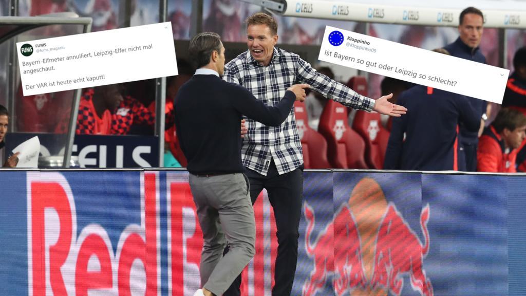 Netz-Reaktionen zum Remis zwischen RB Leipzig und FC Bayern München