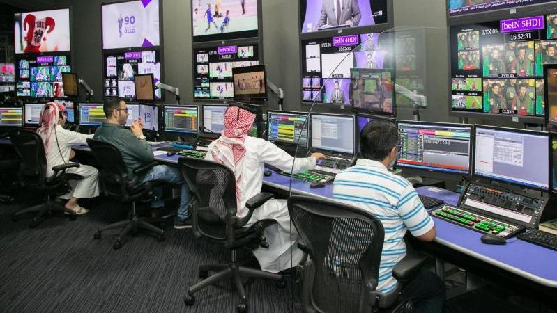 Hintergrund der Debatte um TV-Piraterie ist die Krise zwischen Katar und Saudi-Arabien