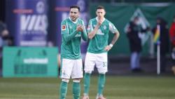 Kevin Möhwald (l.) und Marco Friedl könnten Werder Bremen wohl noch verlassen