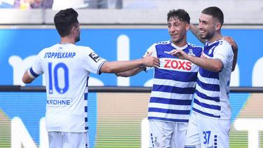 Der MSV Duisburg feierte einen 2:0-Erfolg gegen Würzburg