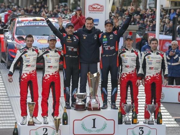 Thierry Neuville und Hyundai triumphierten in Monte Carlo über die Toyota-Konkurrenz