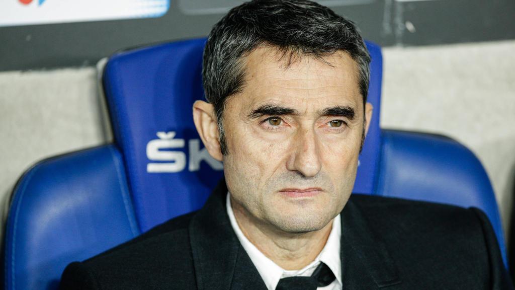 Für Ernesto Valverde ist wohl Schluss beim FC Barcelona