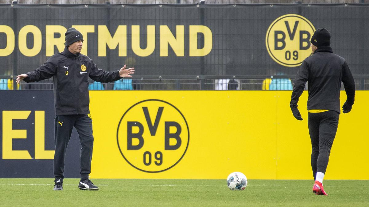 """Lucien Favre: Die angestrebten Geisterspiele in der Fußball-Bundesliga werden """"ganz anders für alle"""""""