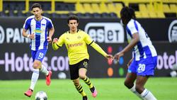 Mateu Morey (M.) freut sich über Einsätze beim BVB
