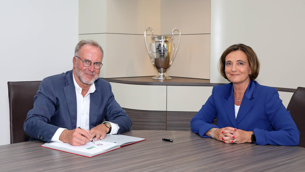 Der FC Bayern arbeitet mit den SOS-Kinderdörfern zusammen
