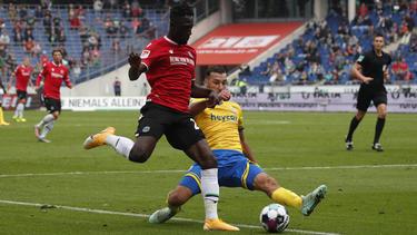 Hannover 96 setzte sich im Derby klar gegen Braunschweig durch