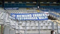 Keine Zuschauer bei Arminia Bielefeld vs. BVB