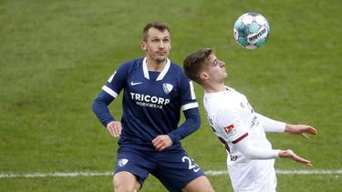 Für Robert Tesche und den VfL Bochum läuft es derzeit nach Maß