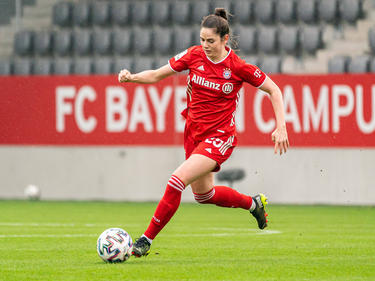 Sarah Zadrazil hat sich beim FC Bayern München als Stammkraft etabliert