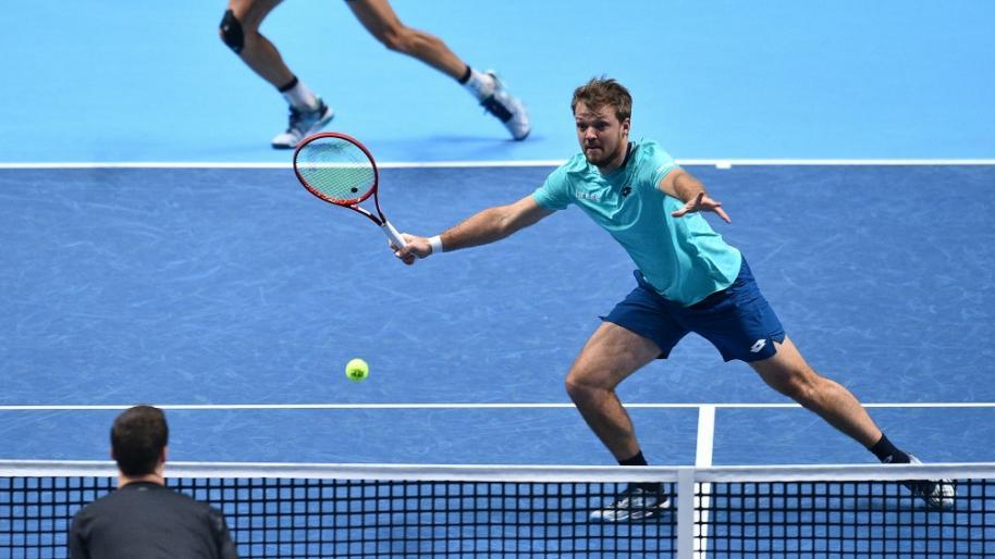 Kevin Krawietz ist auch ohne Andreas Mies gut in die Australian Open gestartet