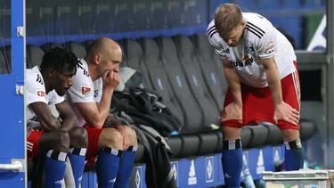 Nach dem Remis gegen den KSC schwinden beim HSV weiter die Aufstiegshoffnungen