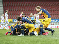 Salzburger Jubel über den Cupsieg
