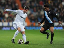 Herbe Schlappe für Málaga im Santiago Bernabéu