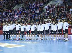 Das DHB-Team vor dem EM-Finale gegen Spanien