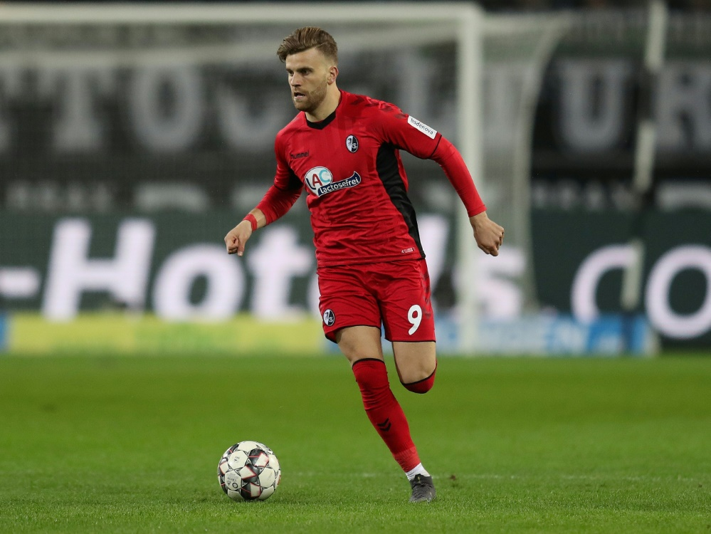 Traf gegen Cagliari doppelt: Lucas Höler