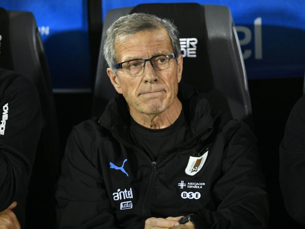 Entlassen: Oscar Tabarez trainierte Uruguay seit 2006