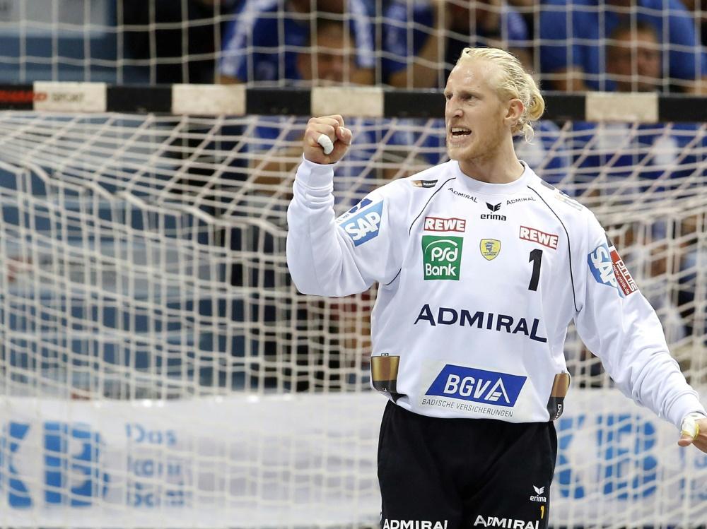 Mikael Appelgren machte für die Löwen eine starke Partie