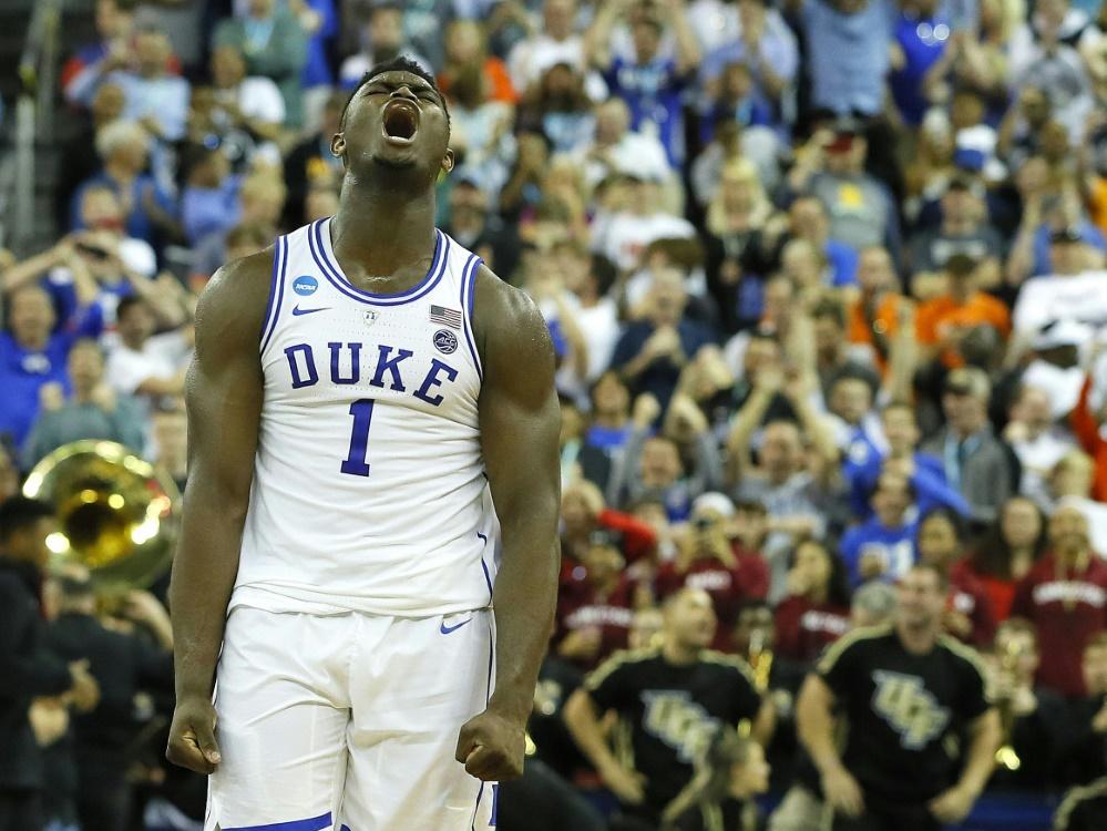 Duke Blue Devils mit Zion Williamson sind bei March Madness weiter