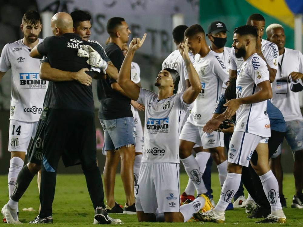 Santos bejubelt den Finaleinzug