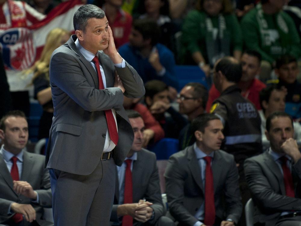 Deutliche Niederlage für München und Coach Radonjic