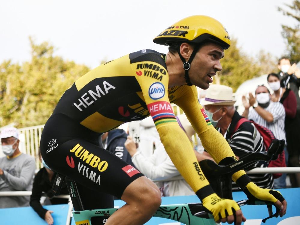 Dumoulin stieg am Mittwoch vor der achten Etappe aus