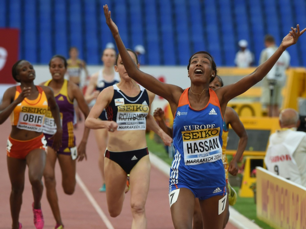 Sifan Hassan läuft Weltrekord über die Meile