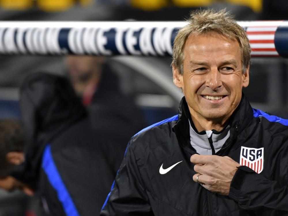 Klinsmann hätte sich die WM-Qualifikation mit USA zugetraut
