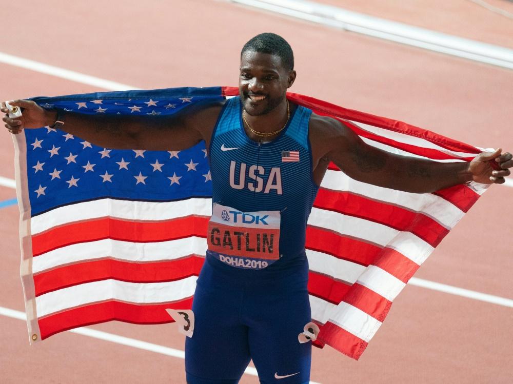 Will auch 2021 um Gold kämpfen: Sprintstar Justin Gatlin
