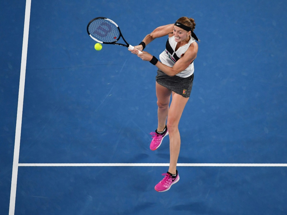 Kvitova spielt um ihren dritten Grand-Slam-Titel