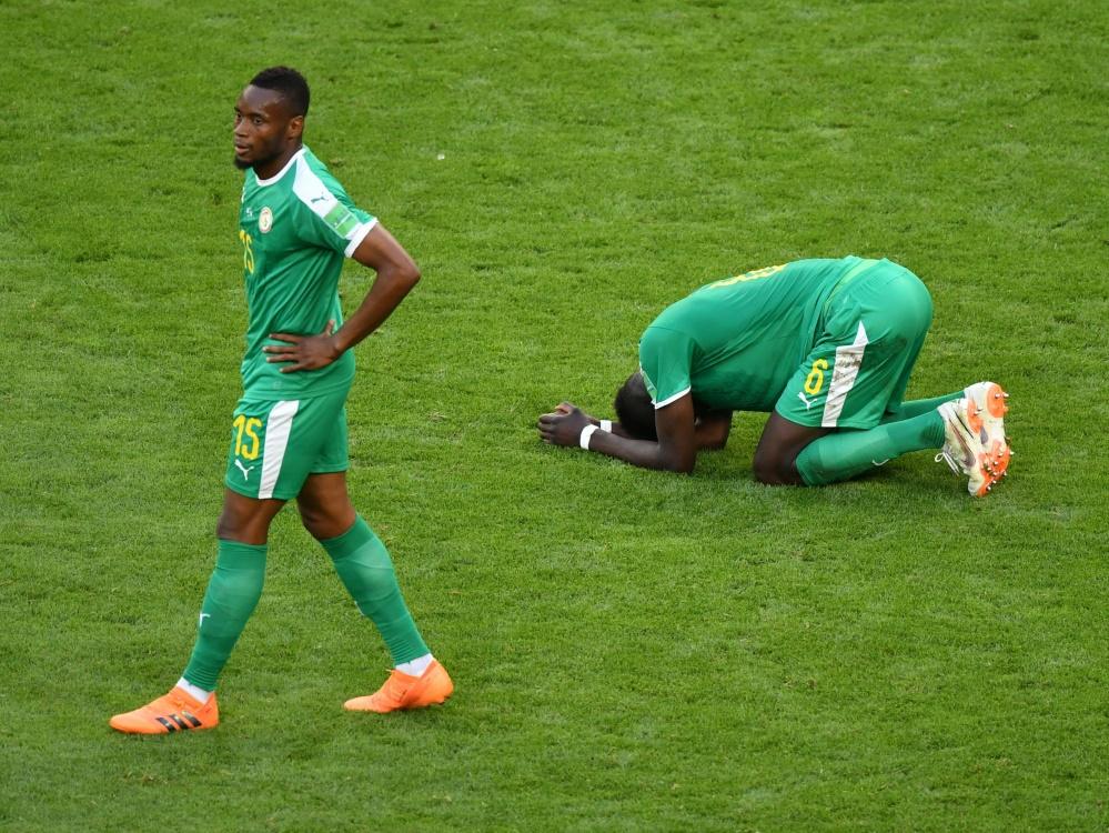 Der Sénégal scheidet wegen der Fairplay-Wertung aus