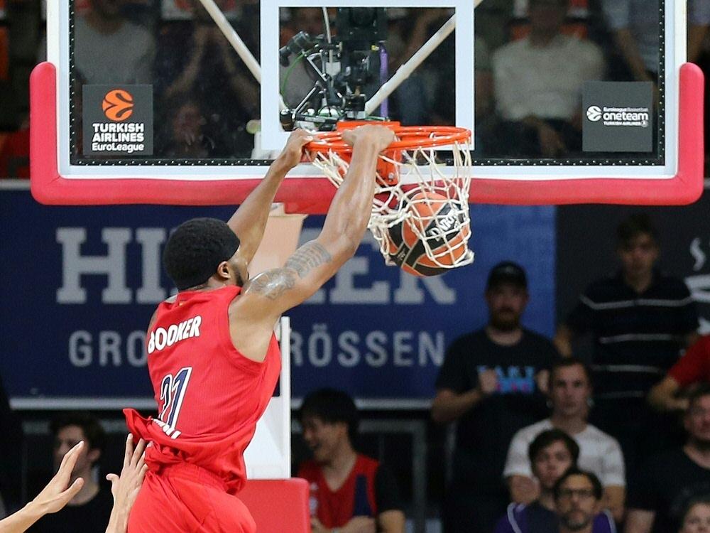 Bayern München feiert einen Sieg in der EuroLeague