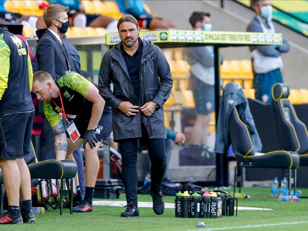 Daniel Farke steigt mit Norwich City ab