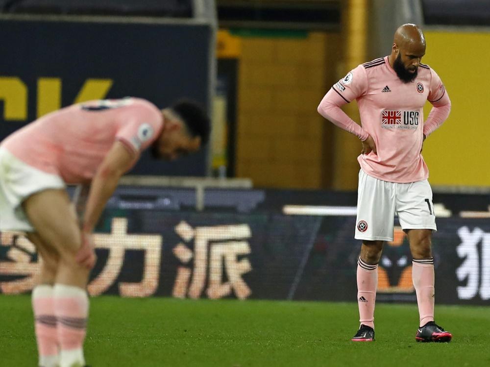 Sheffield United steigt ab