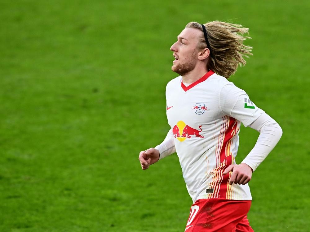 Emil Forsberg verlängert bei RB Leipzig
