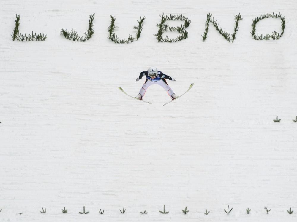 In Ljubno werden die letzten Wettbewerbe vor Olympia ausgetragen