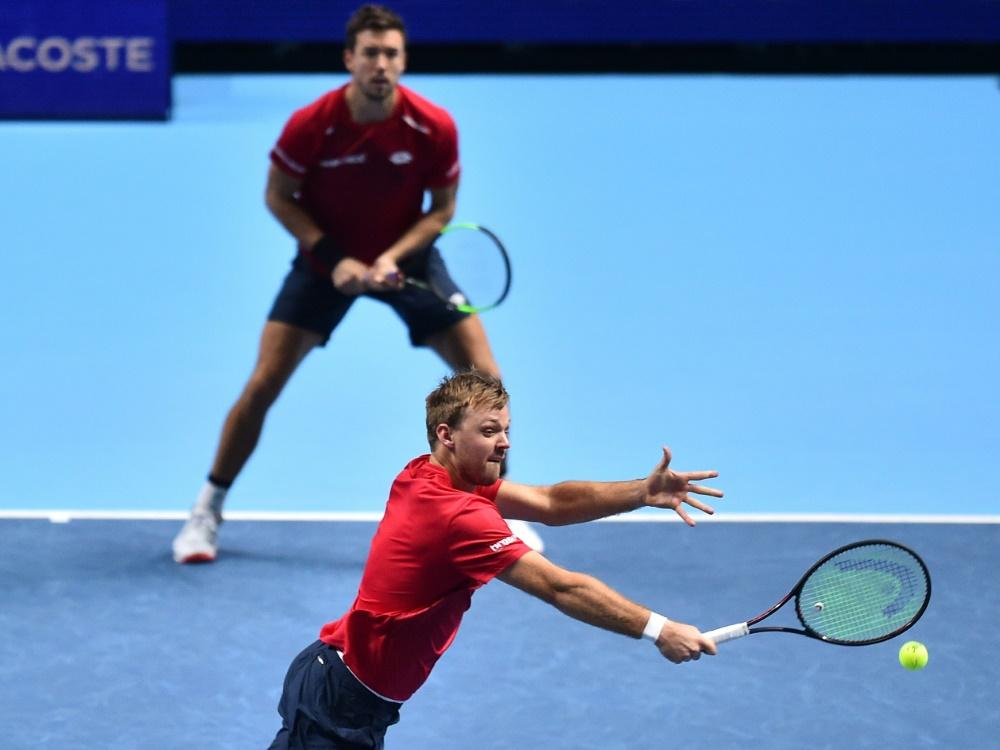 US Open: Krawietz und Mies verpassen das Viertelfinale