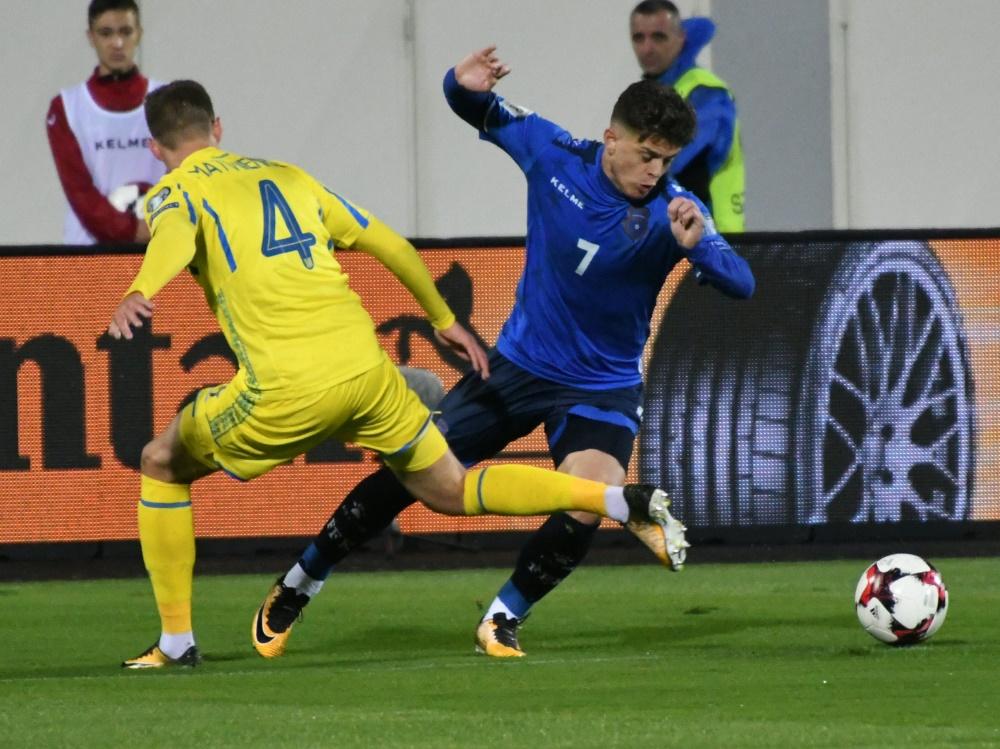Der Bremer Rashica gewann mit dem Kosovo