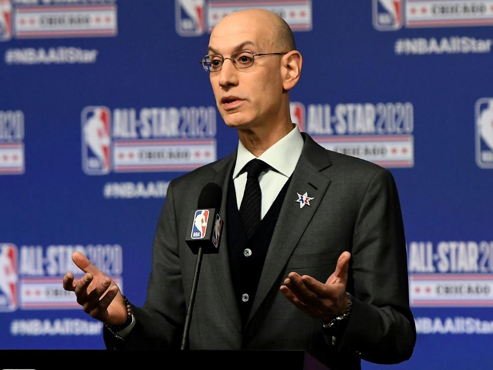 Adam Silver ist seit 2014 Commissioner der NBA