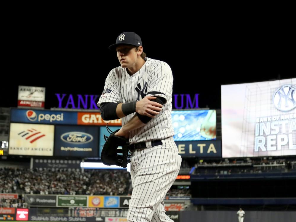 Die Yankees um LeMahieu gewinnen Spiel fünf