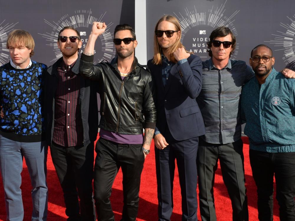 Maroon 5 wird beim Super Bowl die Halbzeitshow spielen