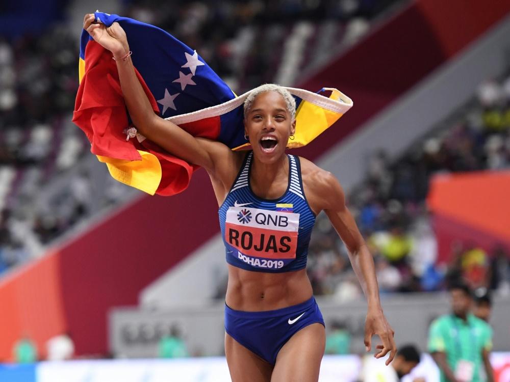 15,37 m: Yulimar Rojas verteidigt ihren WM-Titel