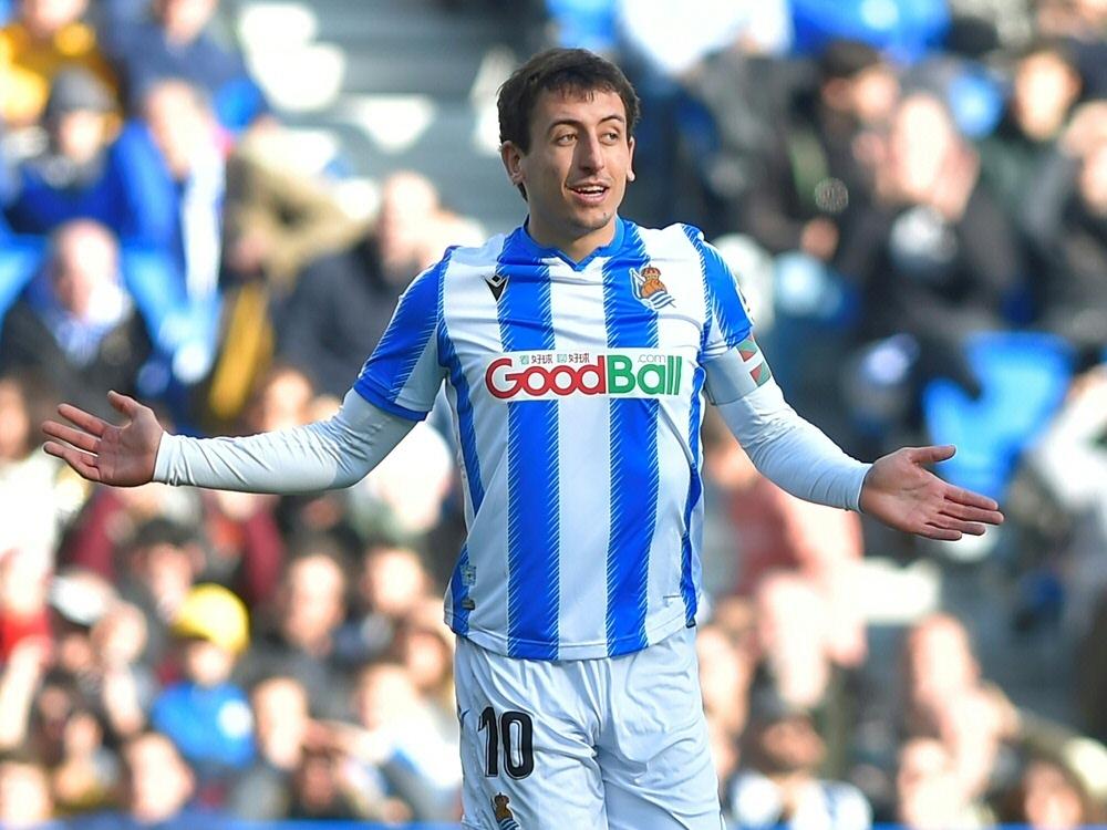Mikel Oyarzabal erzielte das Siegtor für Real Sociedad