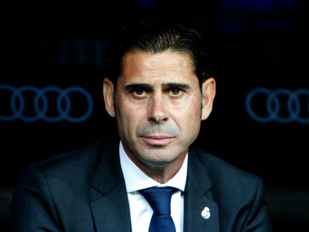 Fernando Hierro wird zum ersten Mal Cheftrainer