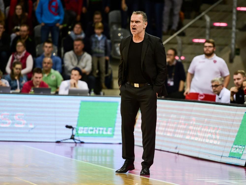 Dirk Bauermann trainierte das DBB-Team von 2003 bis 2011