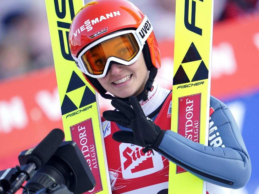 Wünscht sich Skifliegen für Frauen: Katharina Althaus