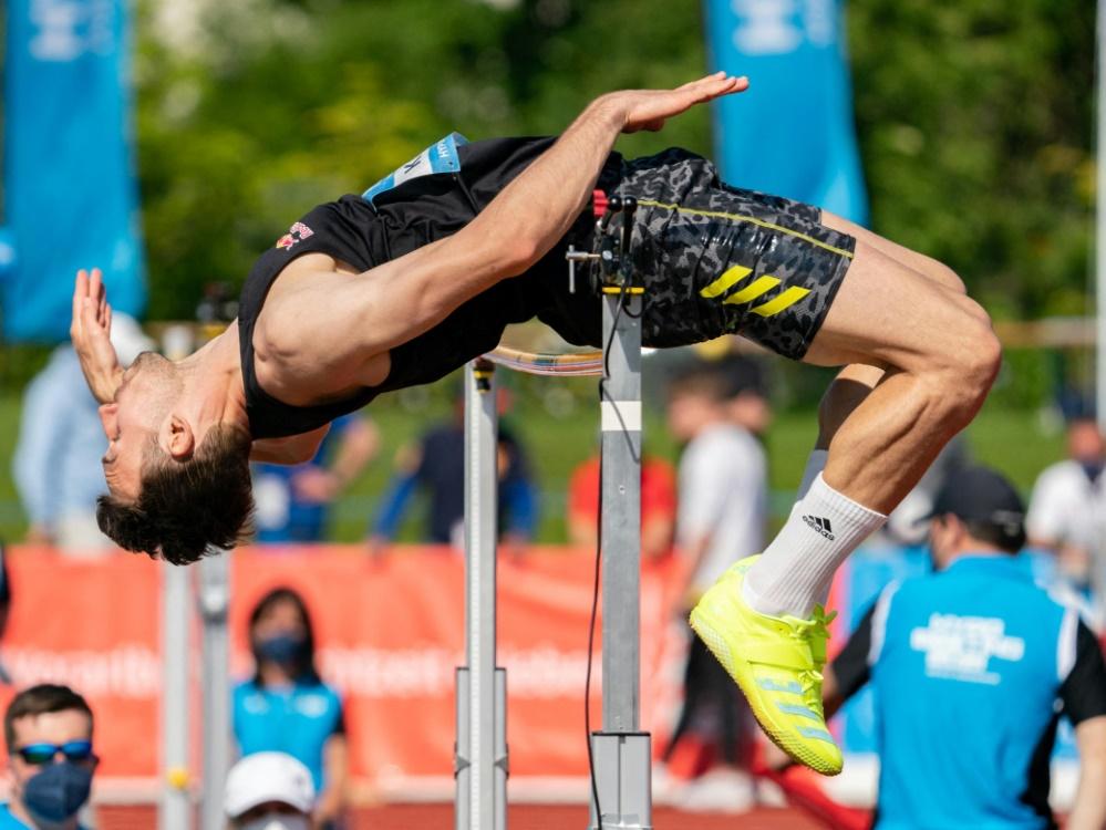 Niklas Kaul beim Zehnkampf in Österreich